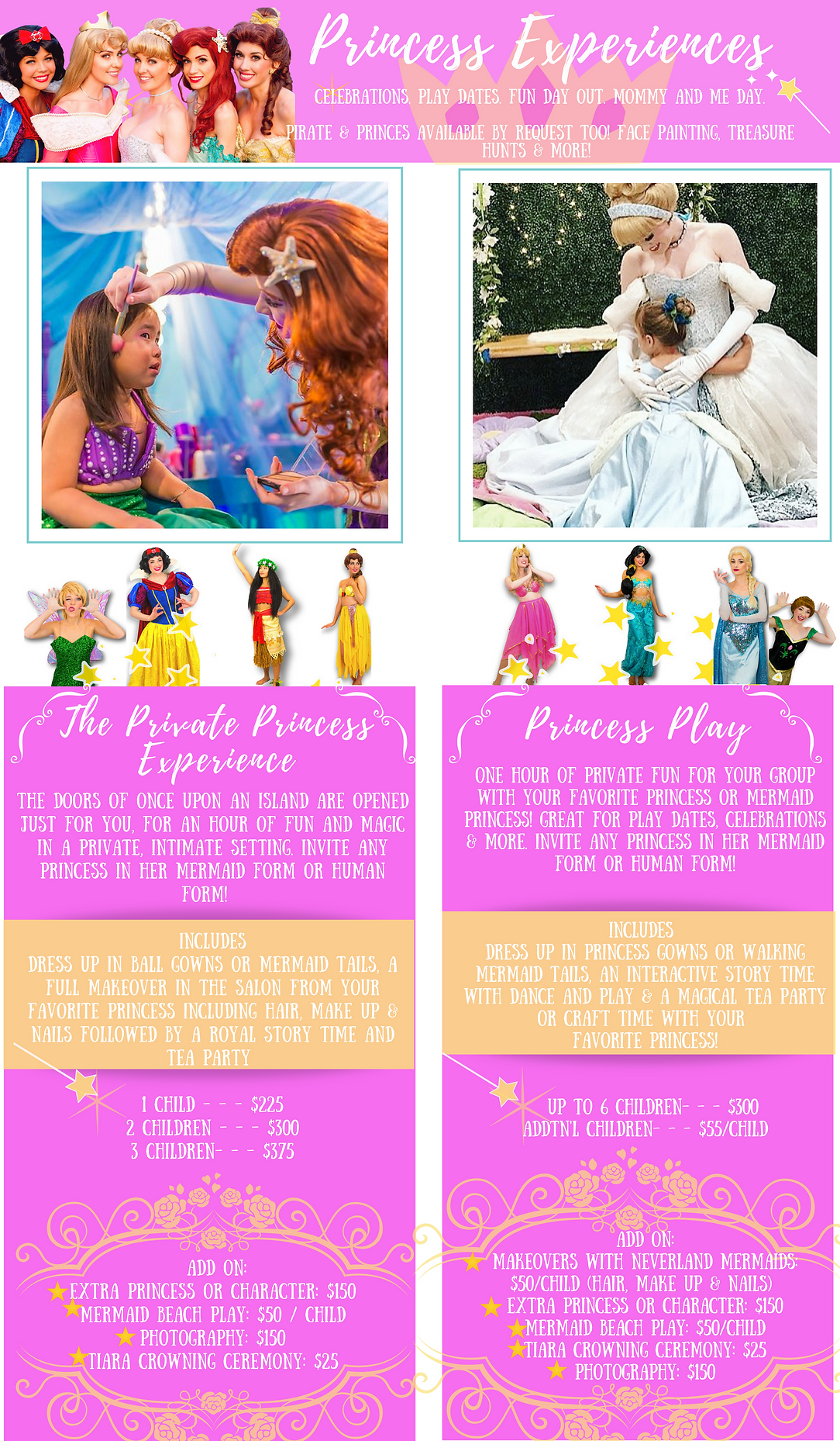 girls birthday party venue, orange county, oc, southern california, tea party venue, kids birthday party venues, girl salon, tea party, mermaid party, princess part, princess character for hire, hire a party princess, birthday party princess character orange county, oc princess parties, princess tea party venue