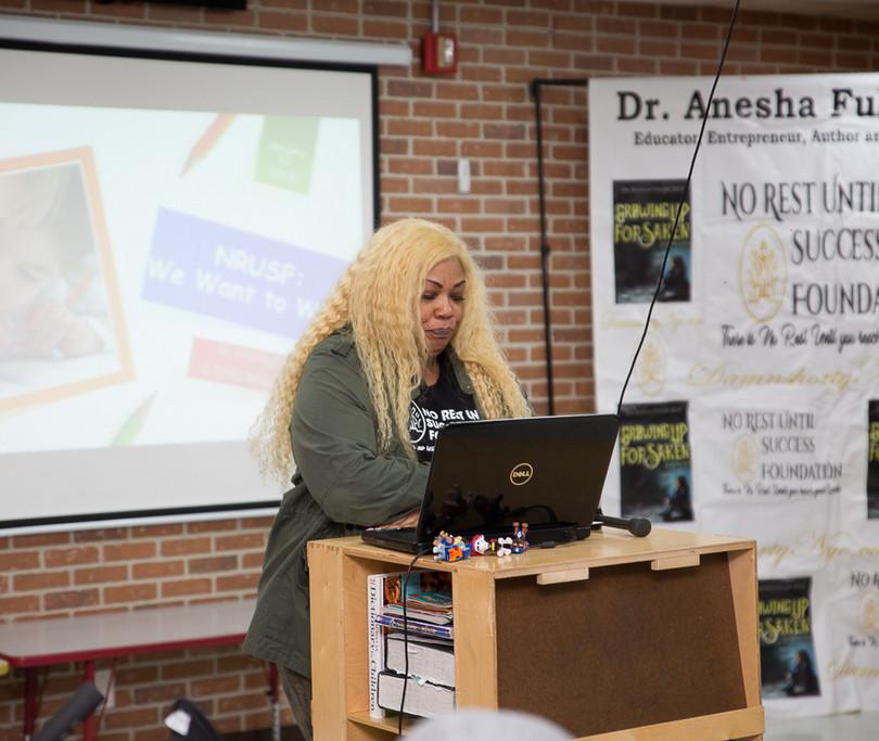 NRUSF: We Want to Write Workshop