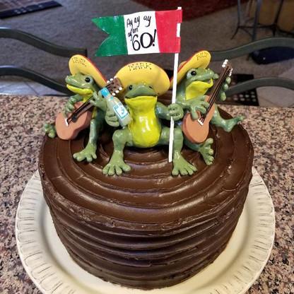 Three Amigo's B-day Party