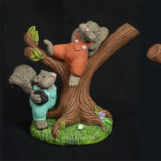 Sprig & Scatter - Squirrely Squirrels