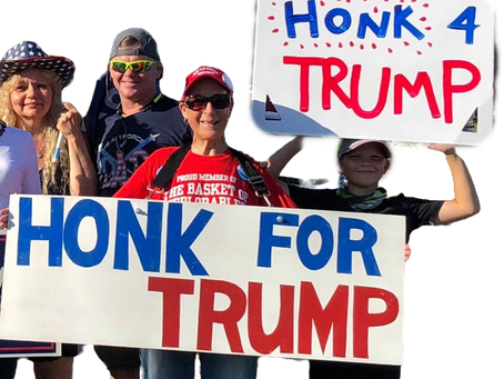 Free Ohio Now Organizes Trump Trains and Trump Waves