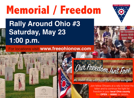 Rally Around Ohio to Commemorate Memorial Day