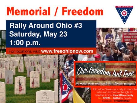 Rally Around Ohio to Commemorate Memorial Day