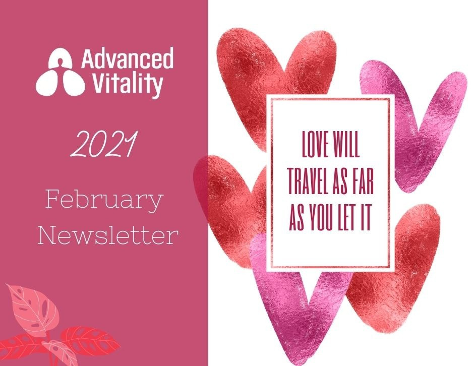 Advanced Vitality February Newsletter Cover Photo