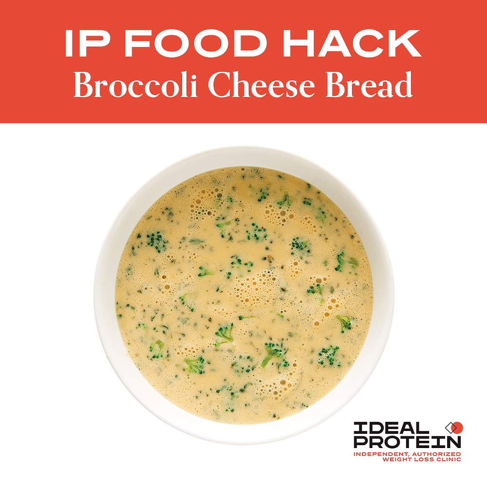 Ideal Protein's Broccoli and Cheese Soup Mix