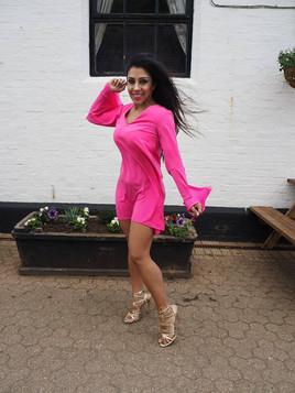 narinder hot pink