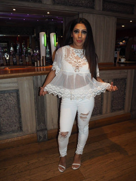 Narinder White Lace