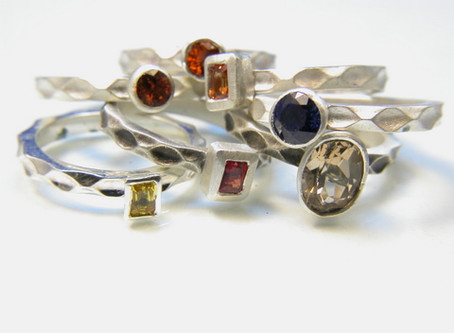 Custom™ Collection Stackable Sterling Silver Rings