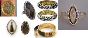 Jewelry History: Mourning Rings and Hair Jewelry