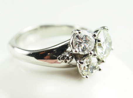 Hot off the Bench: Skull Engagement Ring
