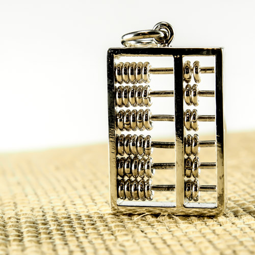 Abacus Pendant