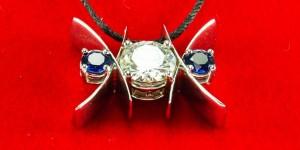 Sapphire-XO-Pendant