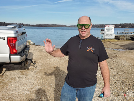 Upper Nehmabin Shore dive 11/29 3rd dive of the week cool as the 80's sunglasses