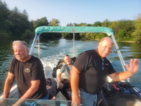 Pine Lake Torpedos found Scuba Diving