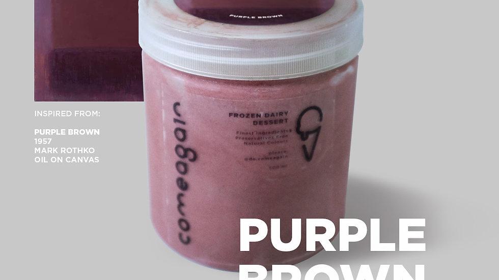 500ml Purple Brown