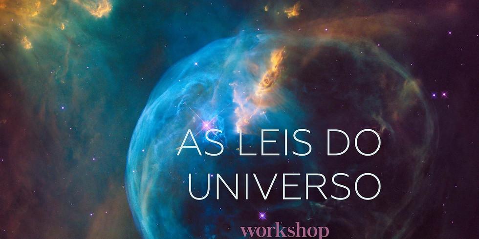 WORKSHOP | AS LEIS DO UNIVERSO