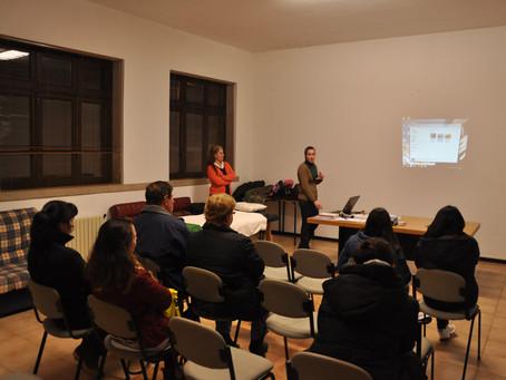 Apresentação da terapia Reiki - Junta de freguesia de São Pedro da Torre