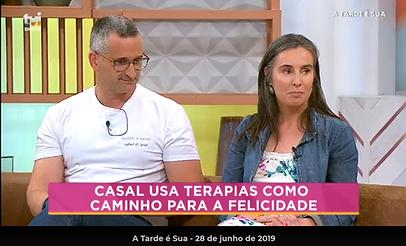 Rafael e Jessi usam as terapias como caminho para a felicidade