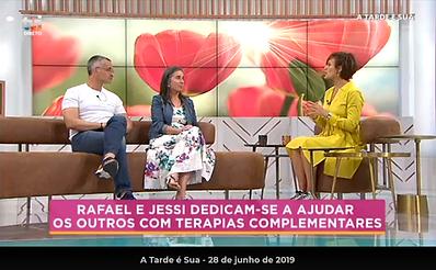 Rafael e Jessi e as terapias complementares