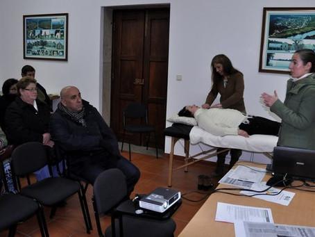 Apresentação da terapia Reiki - Junta de Freguesia de Ganfei