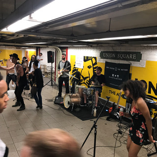 Nick with Andy Suzuki & the Method Band in New York
