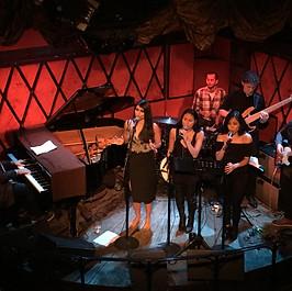 Nick with Shilpa Narayan band, Rockwood Music Hall, New York