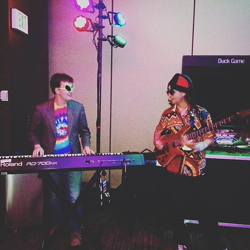 """Nick and Cody Wright at PAX West in Seattle promoting """"ToeJam & Earl: Back in the Groove"""""""