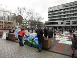 Februar 2014 DRG Mosaikaktion