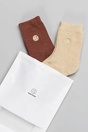 COTTON TOWEL SOCKS (SET OF 2)
