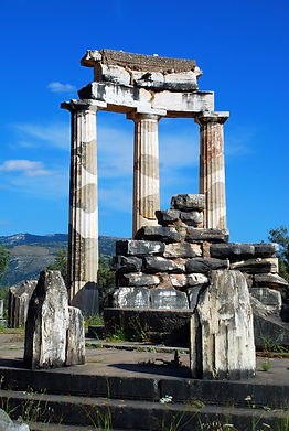 Delphi Tour / Athena Tholos