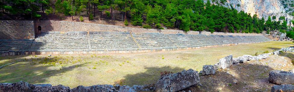 Delphi Stadium / Delphi Tour