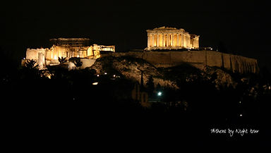 Athens by night tour /evening tour