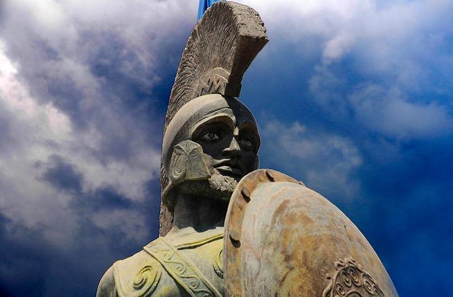 Ancient Sparta Leonidas