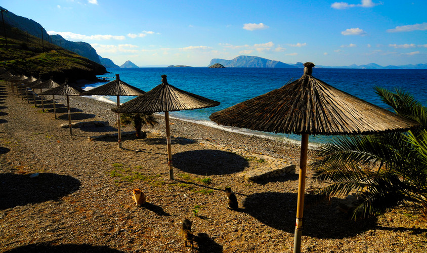 HYDRA - VLYCHOS BEACH