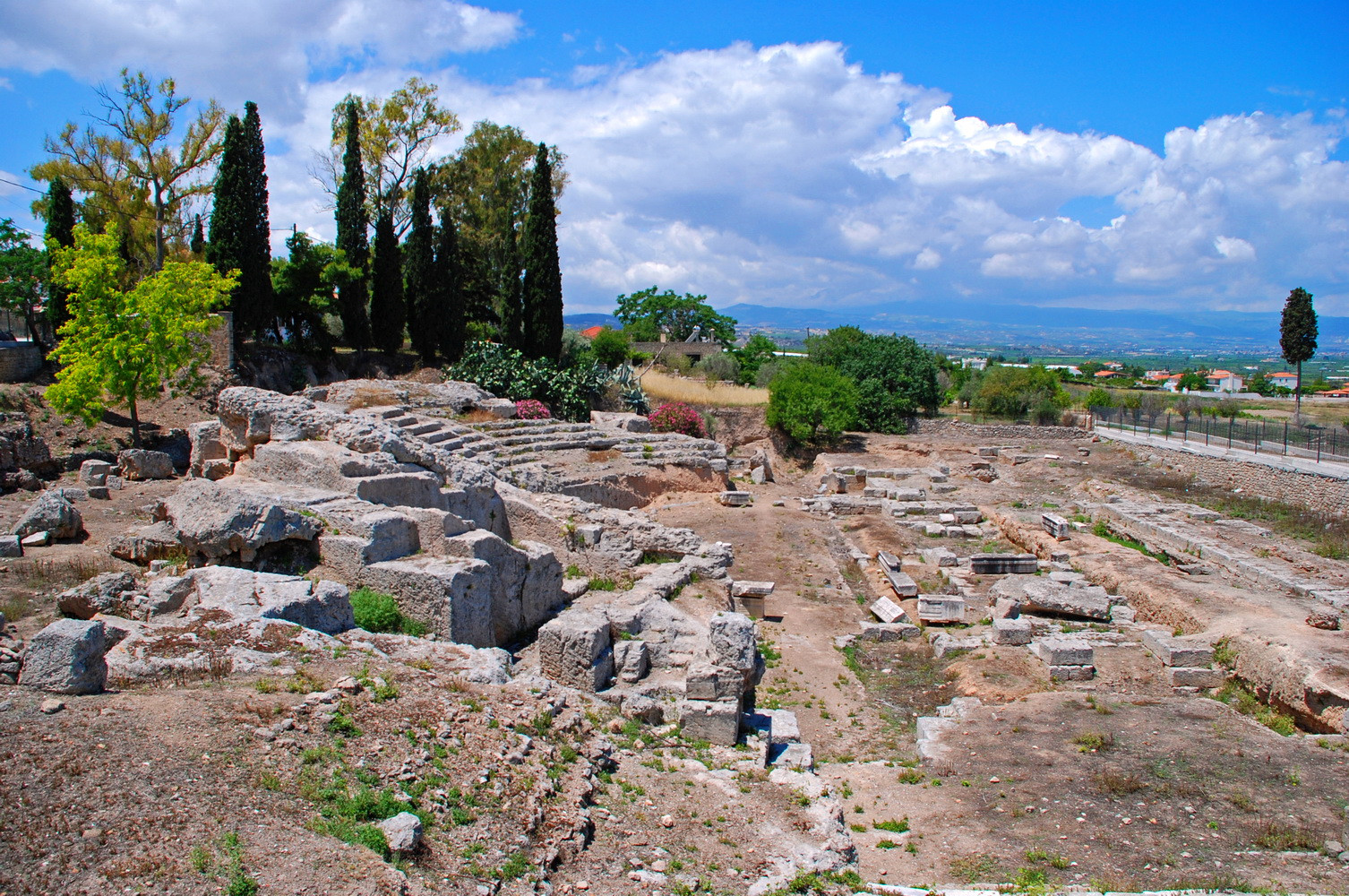ANCIENT CORINTH - ODEON