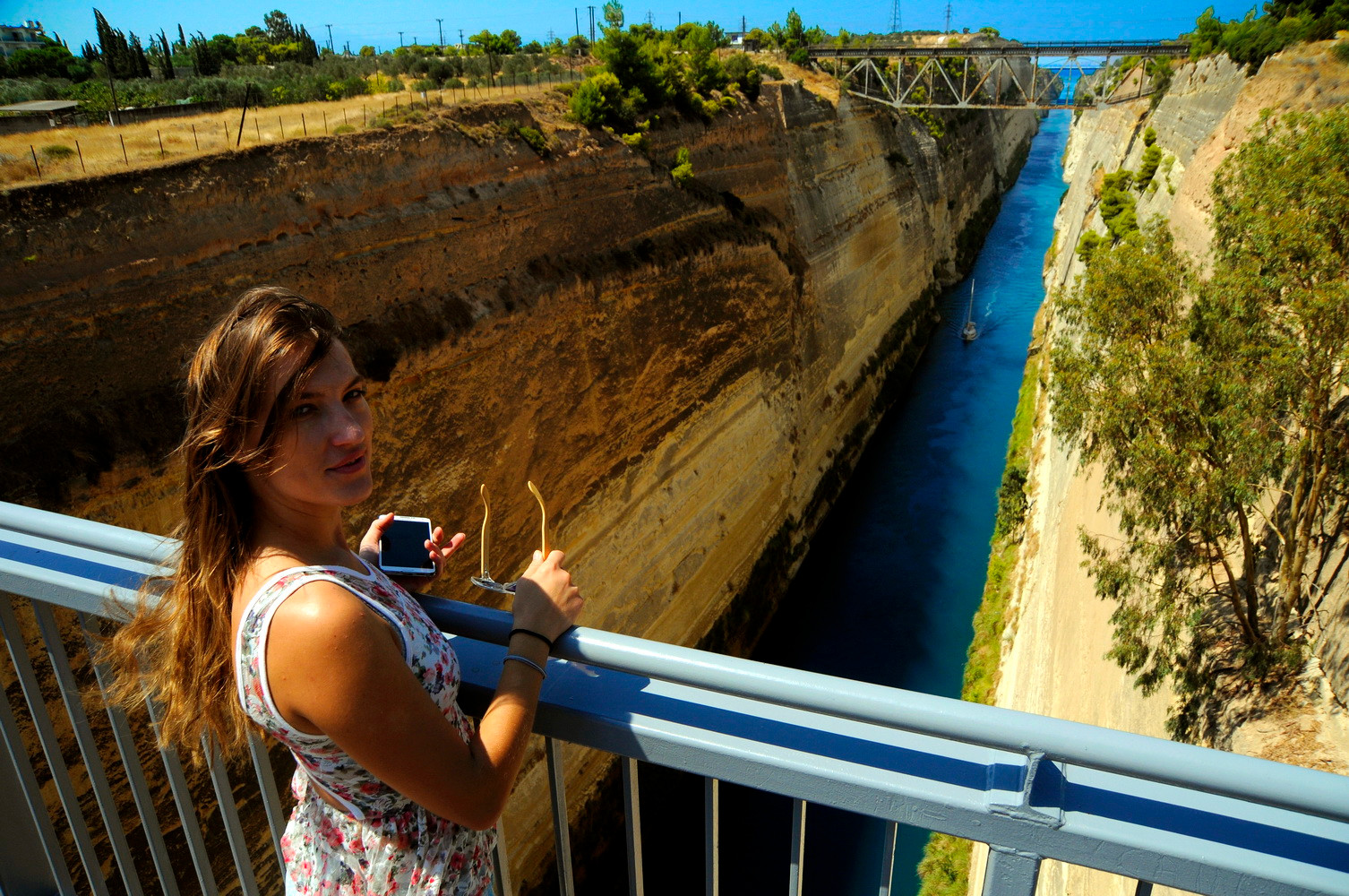 ANCIENT CORINTH - CANAL