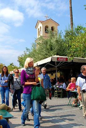 Athens walking private tour