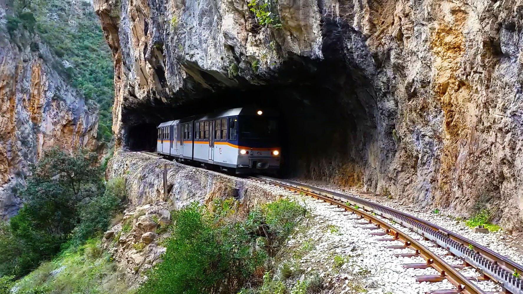RACK RAILWAY TRAIN