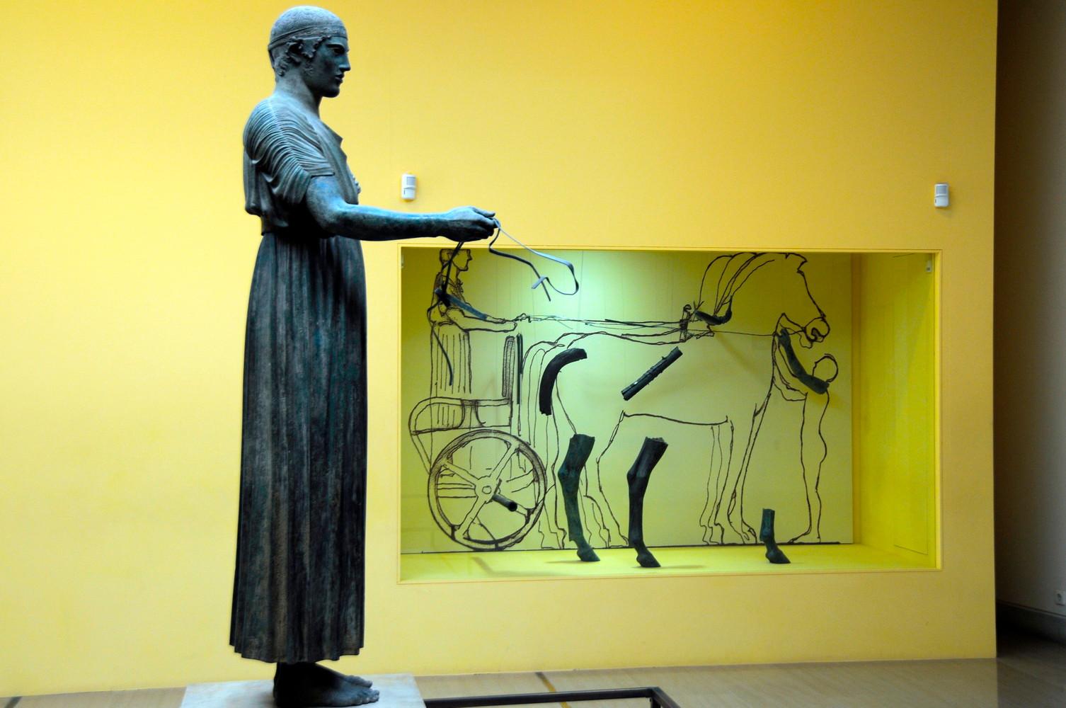 DELPHI MUSEUM BRONZE CHARIOTEER