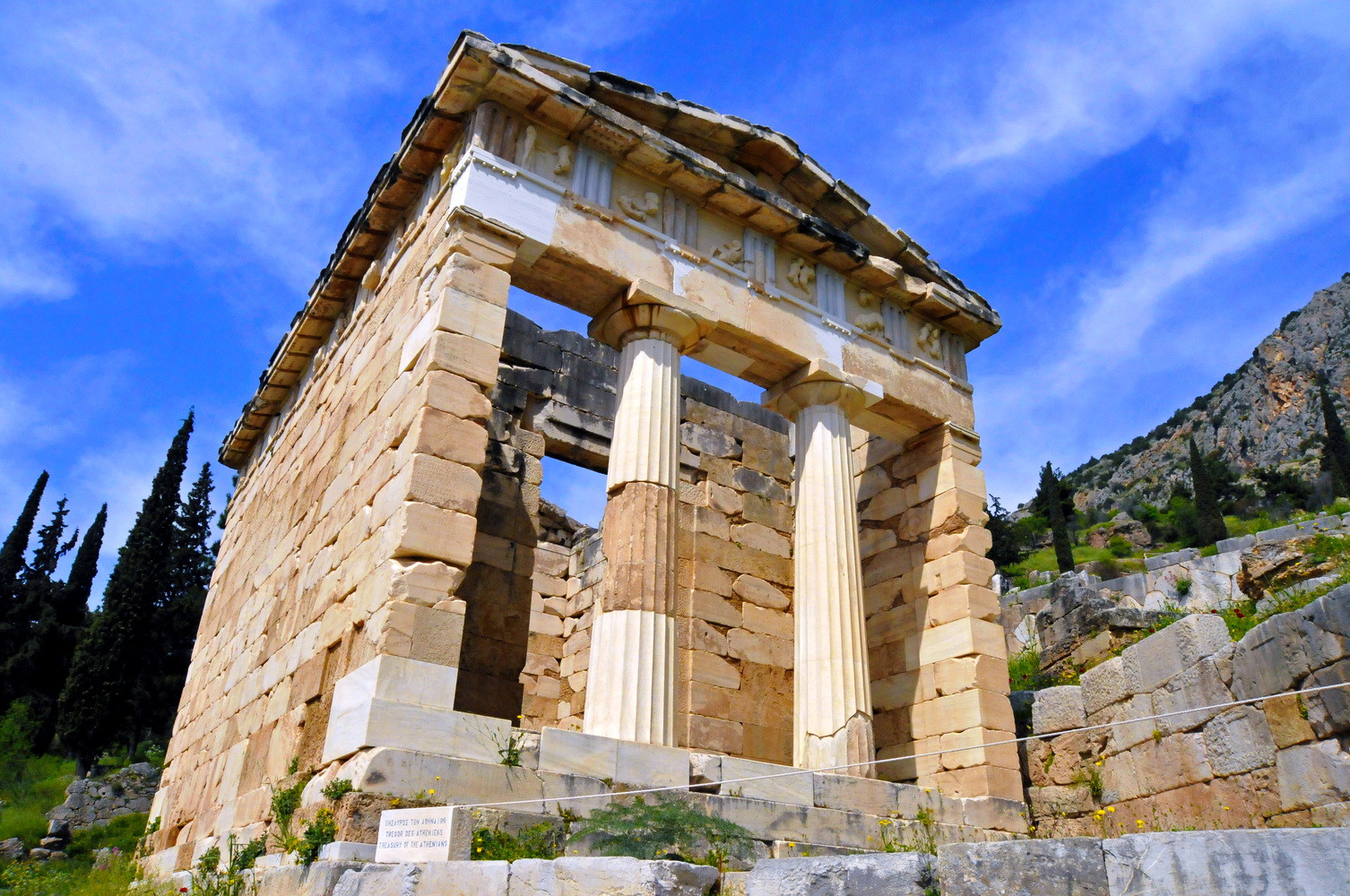 DELPHI SITE / ATHENIAN TREASURY