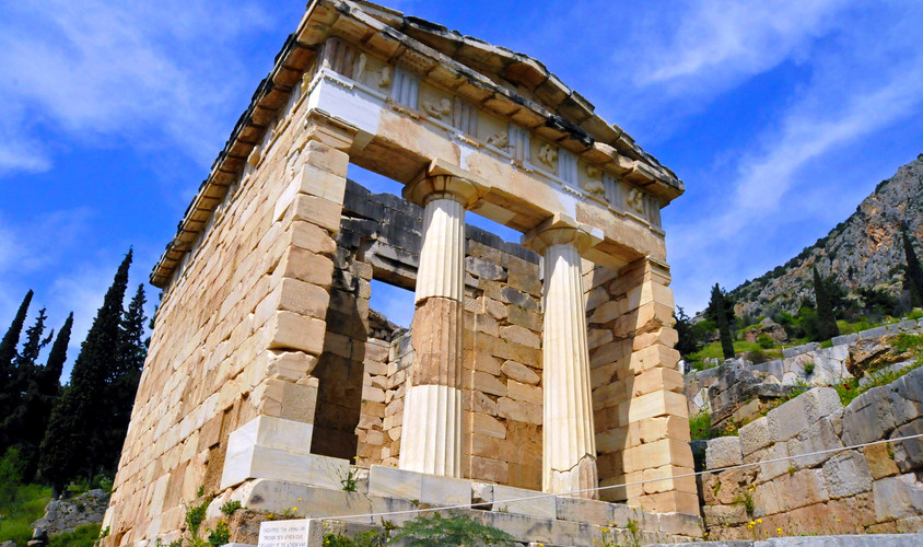 DELPHI SITE / ATHENIAN TREASURY