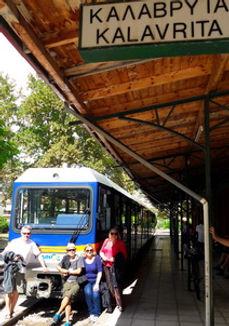 Kalavryta tour. Train on Rack raiway kalavryta Diakopto