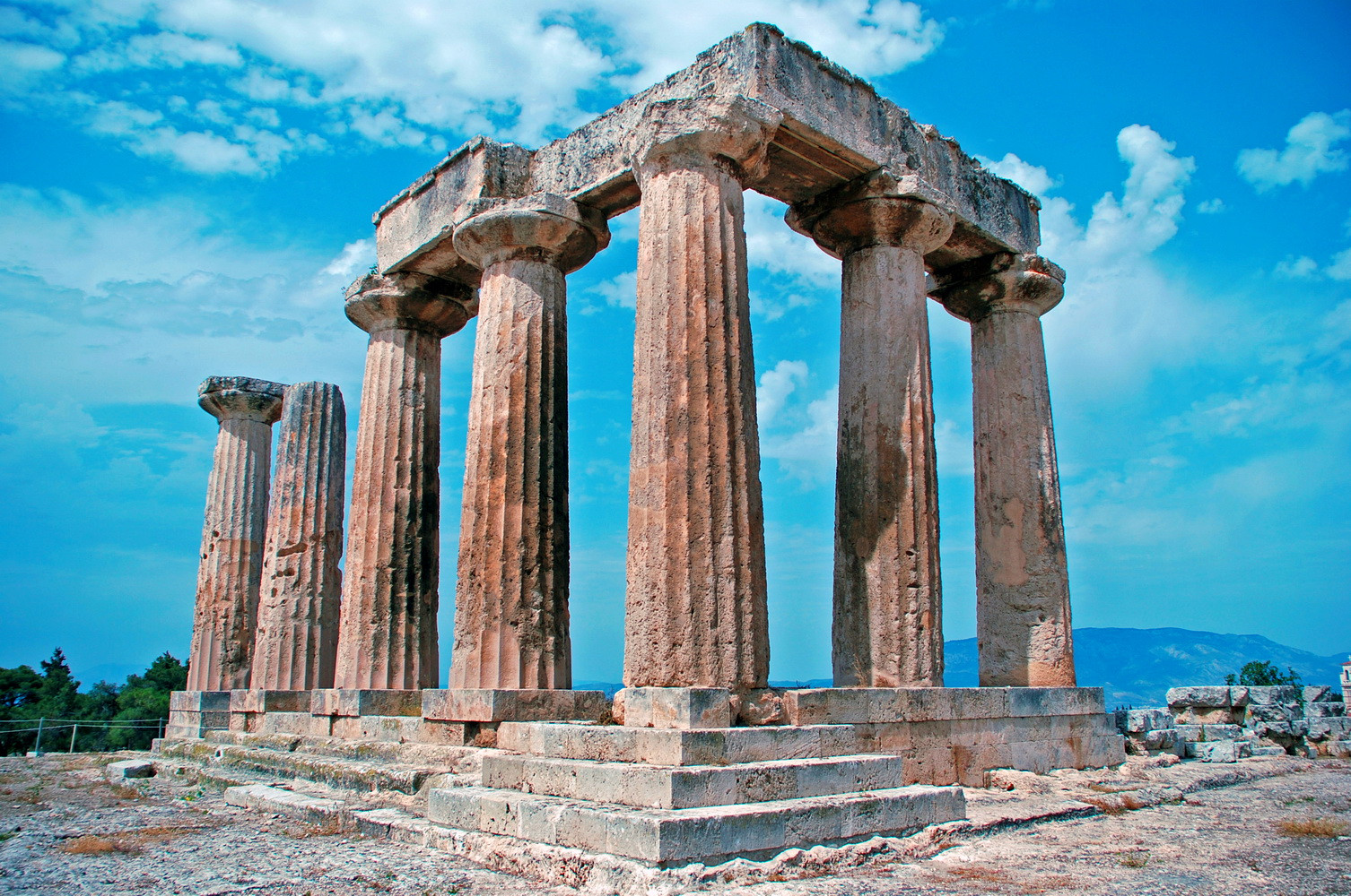 APOLLO TEMPLE - ANCIENT CORINTH