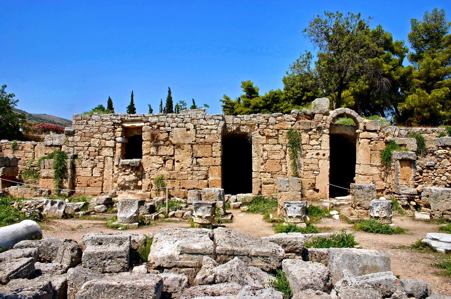 ANCIENT CORINTH - AGORA
