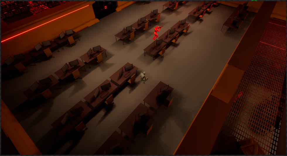 Topdown stealth game