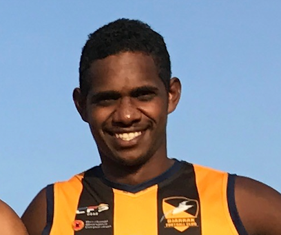DHAMARRANDJI JOINS FOOTY MEANS BUSINESS