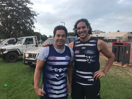 DJARRAK INTRA-CLUB GAME HAS GEELONG FLAVOUR