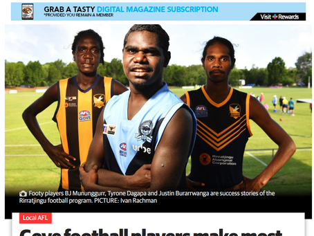 Program featured in NT News