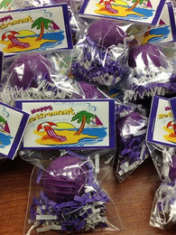 Retirement Party Cake Ball Favors