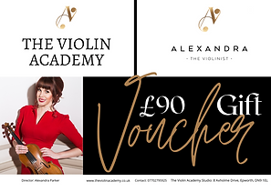 £90_The_Violin_Academy_Gift_Certificate